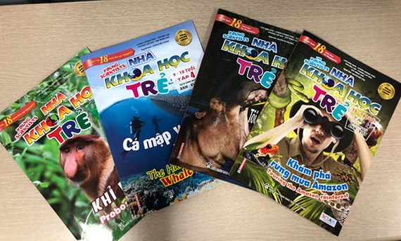 Singaporean bestselling children's science magazine published in Vietnam, Vietnam education, Vietnam higher education, Vietnam vocational training, Vietnam students, Vietnam children, Vietnam education reform, vietnamnet bridge, english news, Vietnam news