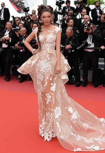Vietnamese actress stuns Cannes red carpet, Ly Nha Ky, cannes film festival, entertainment events, entertainment news, entertainment activities, what's on, Vietnam culture, Vietnam tradition, vn news, Vietnam beauty, news Vietnam, Vietnam news, Vietnam ne
