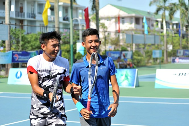 Nam and Phuong enter semi-finals of VN F2 Futures, Sports news, football, Vietnam sports, vietnamnet bridge, english news, Vietnam news, news Vietnam, vietnamnet news, Vietnam net news, Vietnam latest news, vn news, Vietnam breaking news