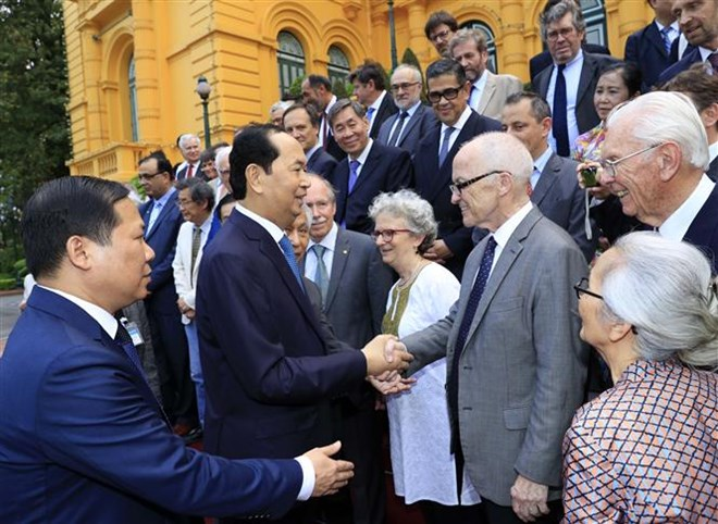 President meets Vietnamese, foreign scientists, Government news, Vietnam breaking news, politic news, vietnamnet bridge, english news, Vietnam news, news Vietnam, vietnamnet news, Vietnam net news, Vietnam latest news, vn news