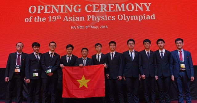 Vietnam bags four golds at 19th Asian Physics Olympiad, Vietnam education, Vietnam higher education, Vietnam vocational training, Vietnam students, Vietnam children, Vietnam education reform, vietnamnet bridge, english news, Vietnam news, news Vietnam, vi