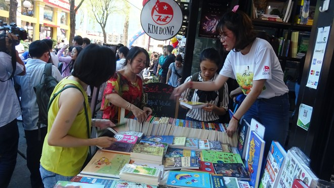 Various activities during European Book Days in HCM City, entertainment events, entertainment news, entertainment activities, what's on, Vietnam culture, Vietnam tradition, vn news, Vietnam beauty, news Vietnam, Vietnam news, Vietnam net news, vietnamnet