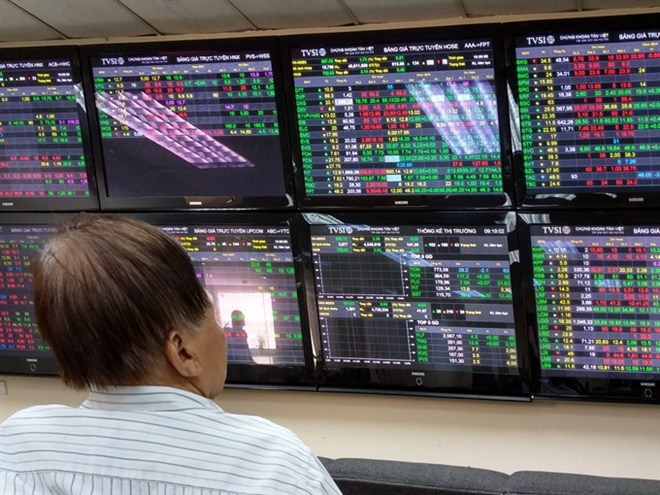 Large-cap, oil & gas stocks boost VN-Index, vietnam economy, business news, vn news, vietnamnet bridge, english news, Vietnam news, news Vietnam, vietnamnet news, vn news, Vietnam net news, Vietnam latest news, Vietnam breaking news