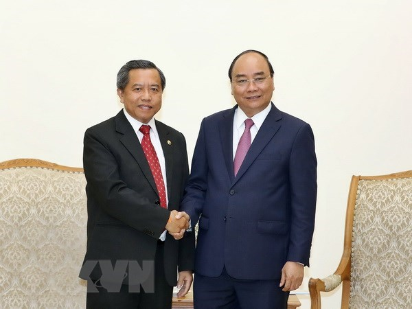 PM receives Lao Minister of Science and Technology, Government news, Vietnam breaking news, politic news, vietnamnet bridge, english news, Vietnam news, news Vietnam, vietnamnet news, Vietnam net news, Vietnam latest news, vn news
