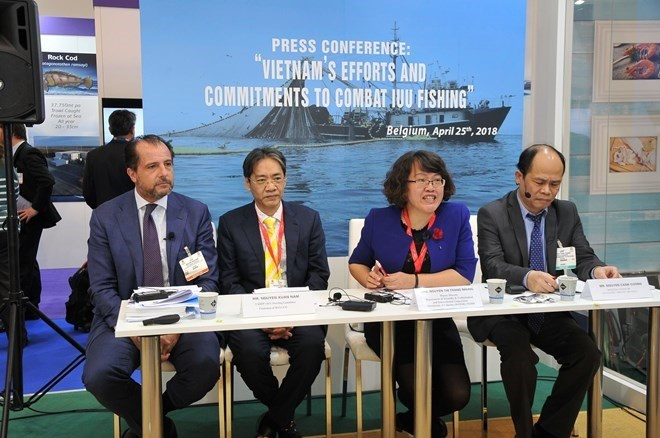 EC delegation inspects Vietnam's efforts to fight IUU fishing, vietnam economy, business news, vn news, vietnamnet bridge, english news, Vietnam news, news Vietnam, vietnamnet news, vn news, Vietnam net news, Vietnam latest news, Vietnam breaking news