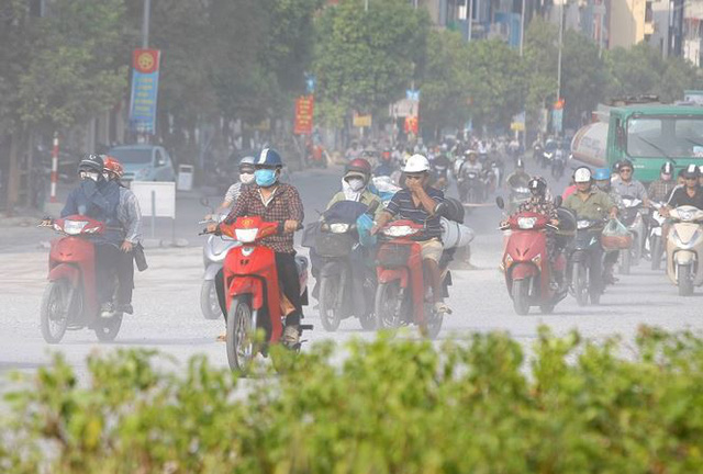 Hanoi faces increasingly harmful air quality, Vietnam environment, climate change in Vietnam, Vietnam weather, Vietnam climate, pollution in Vietnam, environmental news, sci-tech news, vietnamnet bridge, english news, Vietnam news, news Vietnam, vietnamne