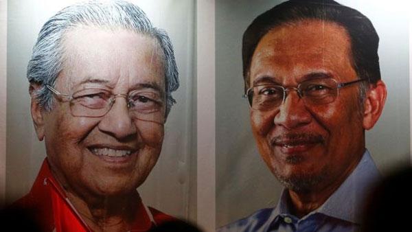 Malaysia, ex-Prime Minister Najib Razak, searched the home