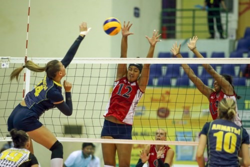 BIP, Jiangshu secure semi-final berths in volleyball tournament