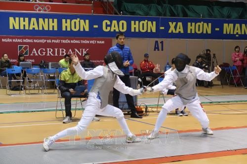 Young fencers vie for national titles, Sports news, football, Vietnam sports, vietnamnet bridge, english news, Vietnam news, news Vietnam, vietnamnet news, Vietnam net news, Vietnam latest news, vn news, Vietnam breaking news
