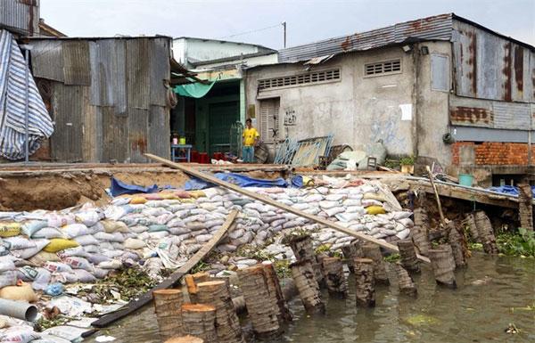 Southern residents, fight against landslides, Vietnam economy, Vietnamnet bridge, English news about Vietnam, Vietnam news, news about Vietnam, English news, Vietnamnet news, latest news on Vietnam, Vietnam