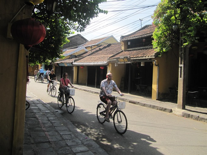 Hoi An bicycle project wins global award, Vietnam environment, climate change in Vietnam, Vietnam weather, Vietnam climate, pollution in Vietnam, environmental news, sci-tech news, vietnamnet bridge, english news, Vietnam news, news Vietnam, vietnamnet ne