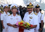 Indian naval ships visit Da Nang