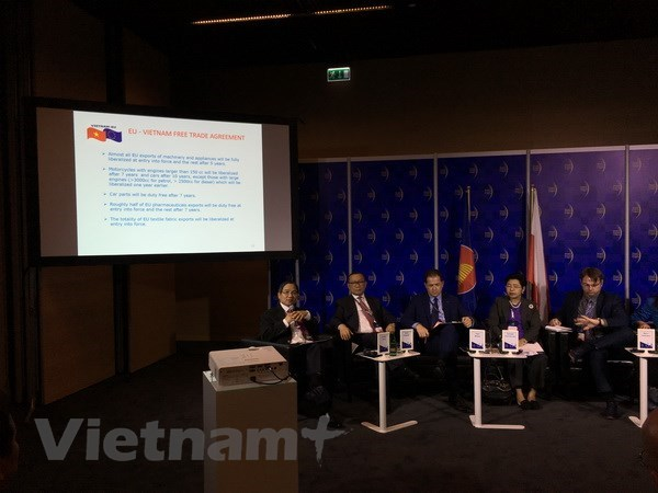 EVFTA - a push for Vietnam-EU economic relations, vietnam economy, business news, vn news, vietnamnet bridge, english news, Vietnam news, news Vietnam, vietnamnet news, vn news, Vietnam net news, Vietnam latest news, Vietnam breaking news