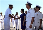 Indian naval ships visit Da Nang city