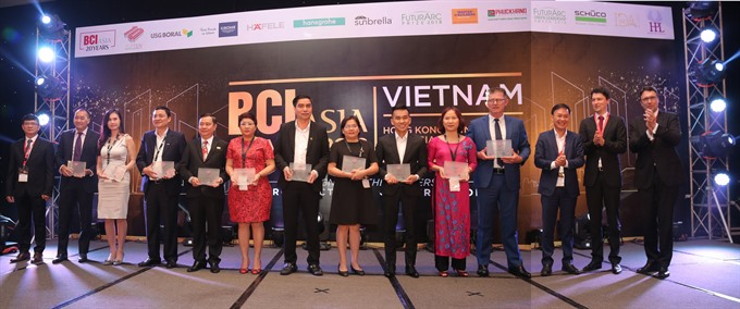 Top architectural and property developers receive awards, vietnam economy, business news, vn news, vietnamnet bridge, english news, Vietnam news, news Vietnam, vietnamnet news, vn news, Vietnam net news, Vietnam latest news, Vietnam breaking news