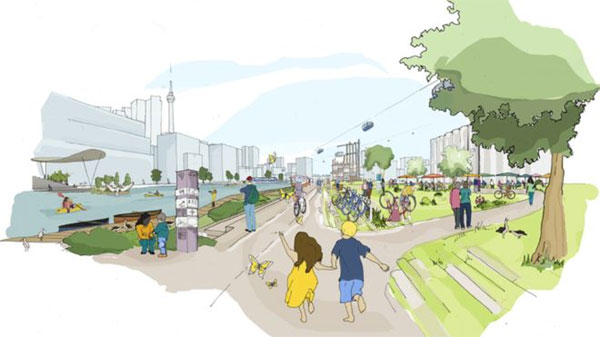 The vision is to have a bustling city that works for everyone -- Photo: SIDEWALK LABS
