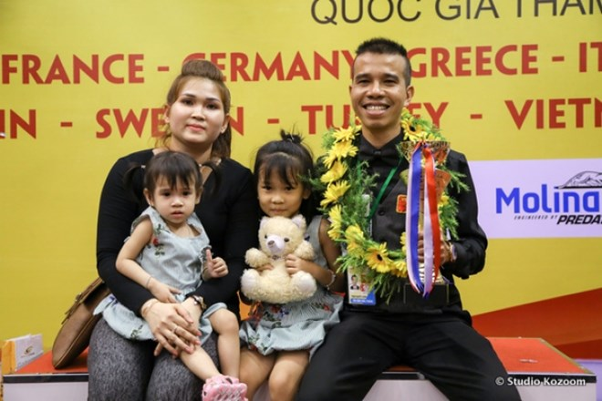 Vietnamese wins Three-Cushion Carom Billiards World Cup in HCM City, Sports news, football, Vietnam sports, vietnamnet bridge, english news, Vietnam news, news Vietnam, vietnamnet news, Vietnam net news, Vietnam latest news, vn news, Vietnam breaking news