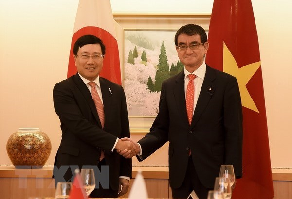 Vietnamese, Japanese FMs delighted at bilateral ties, Government news, Vietnam breaking news, politic news, vietnamnet bridge, english news, Vietnam news, news Vietnam, vietnamnet news, Vietnam net news, Vietnam latest news, vn news