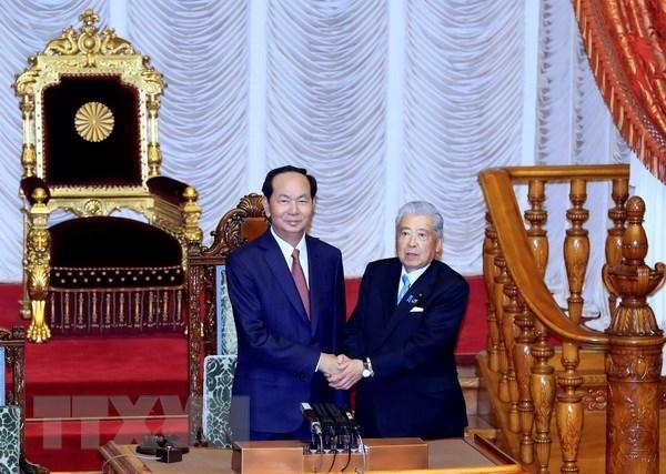 Vietnam rolls out carpet for Japanese investment: President, Government news, Vietnam breaking news, politic news, vietnamnet bridge, english news, Vietnam news, news Vietnam, vietnamnet news, Vietnam net news, Vietnam latest news, vn news