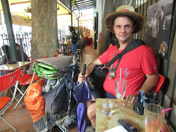 Nicolas Queune, travelled around Vietnam, walking around world, Vietnam economy, Vietnamnet bridge, English news about Vietnam, Vietnam news, news about Vietnam, English news, Vietnamnet news, latest news on Vietnam, Vietnam