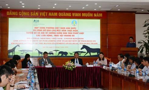 Hanoi statement to fight illegal wildlife trade under review, social news, vietnamnet bridge, english news, Vietnam news, news Vietnam, vietnamnet news, Vietnam net news, Vietnam latest news, vn news, Vietnam breaking news