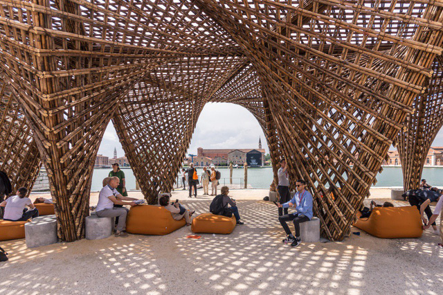 Vo Trong Nghia's bamboo work at Venice Architecture Biennale, entertainment events, entertainment news, entertainment activities, what's on, Vietnam culture, Vietnam tradition, vn news, Vietnam beauty, news Vietnam, Vietnam news, Vietnam net news, vietnam
