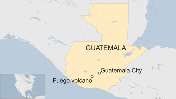 Guatemala volcano, dozens die, injured, missing, airport, closed
