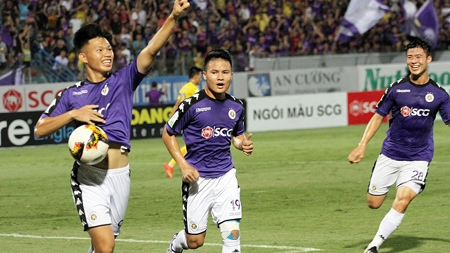 V League Round 11 Review Hanoi FC Crowned First Leg