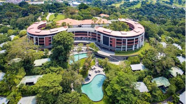 Singapore, Sentosa island, Trump-Kim summit