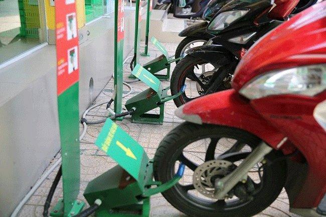 Robots used to keep motorbikes in HCMC, IT news, sci-tech news, vietnamnet bridge, english news, Vietnam news, news Vietnam, vietnamnet news, Vietnam net news, Vietnam latest news, Vietnam breaking news, vn news