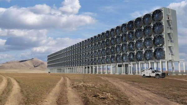 Remove CO2 from the air, developing technology, cut emissions
