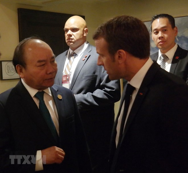 PM Nguyen Xuan Phuc meets many country leaders in Quebec, PM Nguyen Xuan Phuc meets Vietnamese expats in Canada, PM Phuc attends G7 summit, Government news, Vietnam breaking news, politic news, vietnamnet bridge, english news, Vietnam news, news Vietnam,