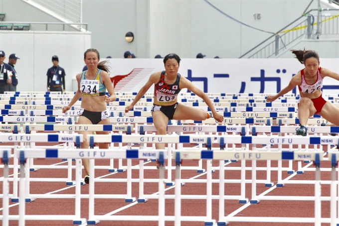 VN's My Tien enters 100m final of Asian athletics event