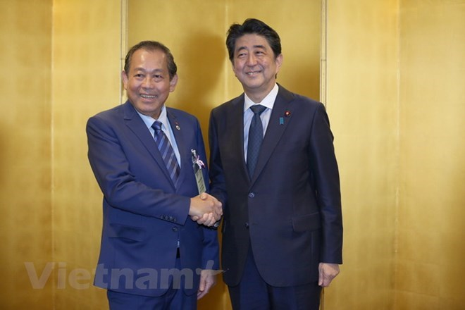 Vietnam, Japan enjoy sound strategic relations: Deputy PM, Government news, Vietnam breaking news, politic news, vietnamnet bridge, english news, Vietnam news, news Vietnam, vietnamnet news, Vietnam net news, Vietnam latest news, vn news
