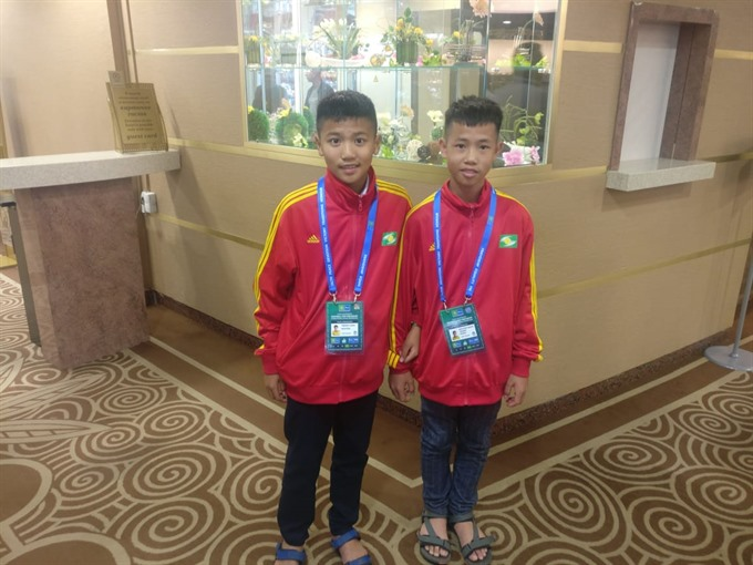 VN youngsters arrives in Moscow for the Football for Friendship Programme, Sports news, football, Vietnam sports, vietnamnet bridge, english news, Vietnam news, news Vietnam, vietnamnet news, Vietnam net news, Vietnam latest news, vn news, Vietnam