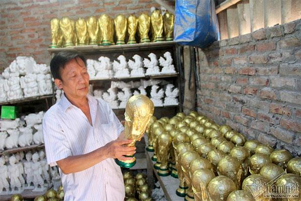 Bat Trang ceramic village, fake World Cup, Vietnamese football fans, Vietnam economy, Vietnamnet bridge, English news about Vietnam, Vietnam news, news about Vietnam, English news, Vietnamnet news, latest news on Vietnam, Vietnam
