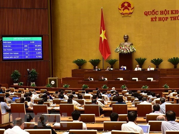 National Assembly adopts two resolutions, three bills, Government news, Vietnam breaking news, politic news, vietnamnet bridge, english news, Vietnam news, news Vietnam, vietnamnet news, Vietnam net news, Vietnam latest news, vn news