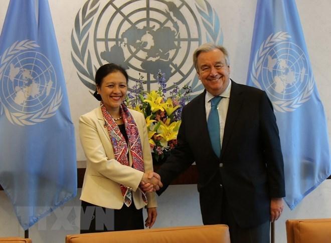 UN Secretary-General hails Vietnam's commitment to realising SDGs, Government news, Vietnam breaking news, politic news, vietnamnet bridge, english news, Vietnam news, news Vietnam, vietnamnet news, Vietnam net news, Vietnam latest news, vn news
