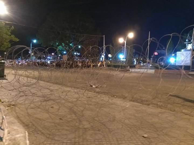 Police injured during protests in Binh Thuan, social news, vietnamnet bridge, english news, Vietnam news, news Vietnam, vietnamnet news, Vietnam net news, Vietnam latest news, vn news, Vietnam breaking news
