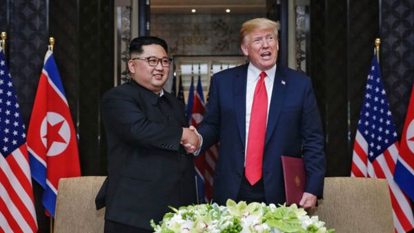 Trump Kim summit, North Korean media celebrates meeting