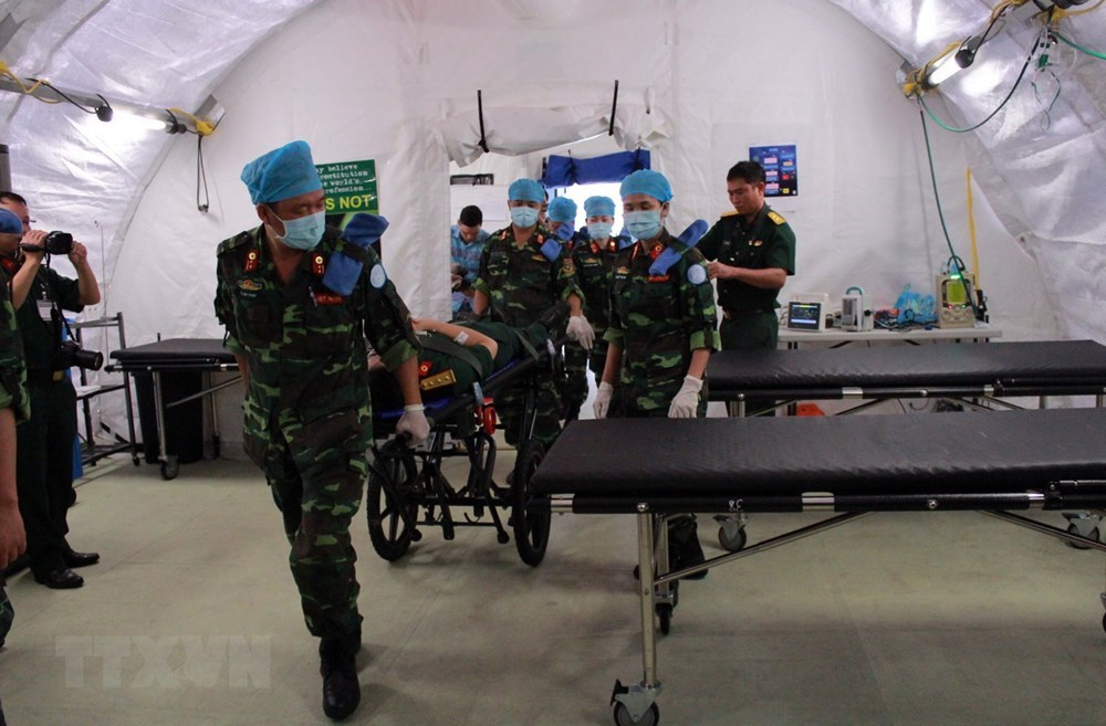 Vietnam blue beret force ready for UN mission in South Sudan, Government news, Vietnam breaking news, politic news, vietnamnet bridge, english news, Vietnam news, news Vietnam, vietnamnet news, Vietnam net news, Vietnam latest news, vn news