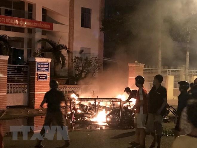 Arrests made relating to disturbance in Binh Thuan, social news, vietnamnet bridge, english news, Vietnam news, news Vietnam, vietnamnet news, Vietnam net news, Vietnam latest news, vn news, Vietnam breaking news