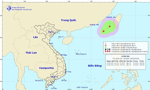 New tropical low pressure forms in East Sea, social news, vietnamnet bridge, english news, Vietnam news, news Vietnam, vietnamnet news, Vietnam net news, Vietnam latest news, vn news, Vietnam breaking news