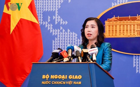 Vietnam opposes China's military acts in Phu Lam island, Government news, Vietnam breaking news, politic news, vietnamnet bridge, english news, Vietnam news, news Vietnam, vietnamnet news, Vietnam net news, Vietnam latest news, vn news