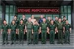 Russian military officers visit Vietnam Peacekeeping Department