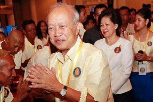Cambodia Prince Ranariddh injured and wife killed in car crash