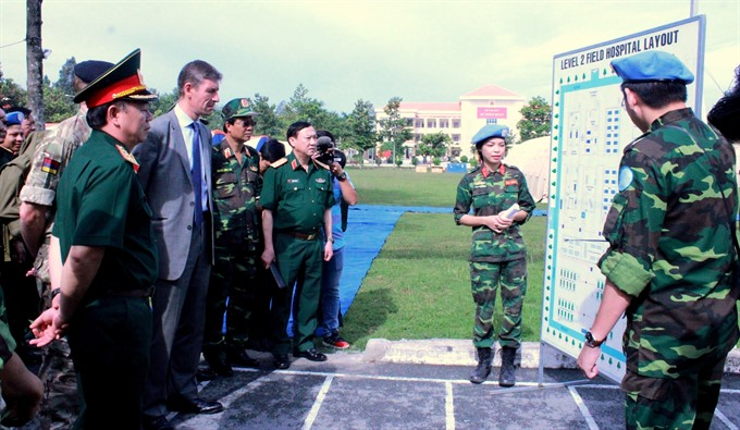 VN military medics to join UN peacekeeping efforts in South Sudan