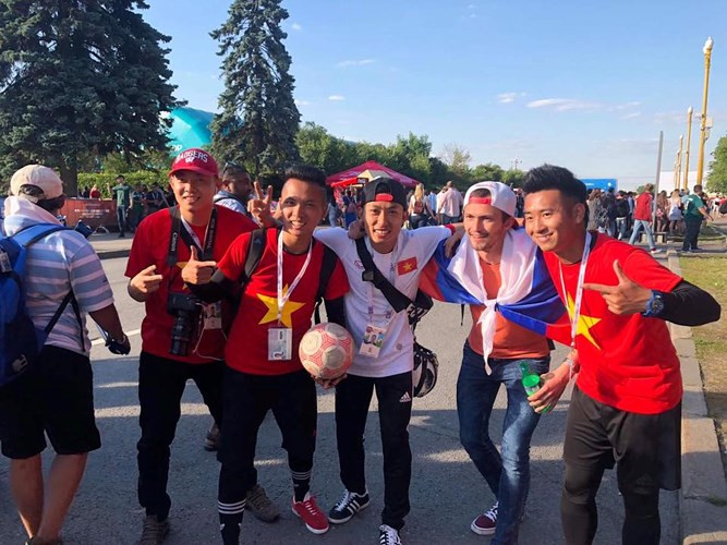 Vietnamese cheer on 2018 FIFA World Cup in Russia