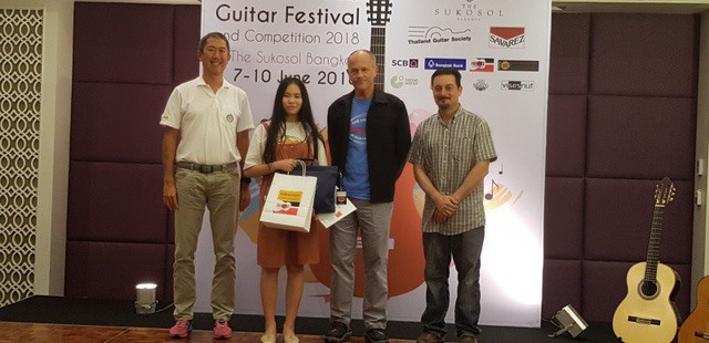 : Vietnamese student tops regional guitar competition in Thailand, entertainment events, entertainment news, entertainment activities, what's on, Vietnam culture, Vietnam tradition, vn news, Vietnam beauty, news Vietnam, Vietnam news, Vietnam net news, vi