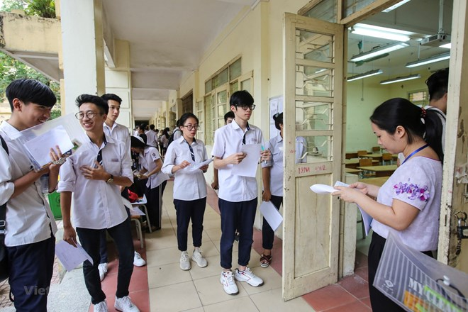 Nearly one million students begin national high school exam, Vietnam education, Vietnam higher education, Vietnam vocational training, Vietnam students, Vietnam children, Vietnam education reform, vietnamnet bridge, english news, Vietnam news, news Vietna